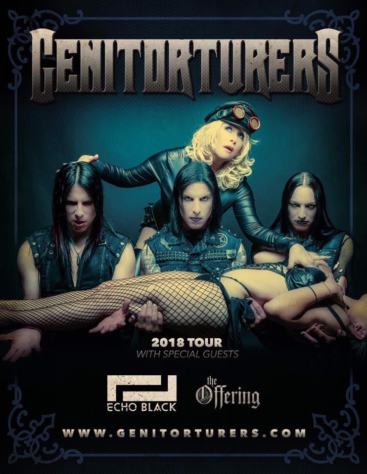 Genitorturers 2018 Tour